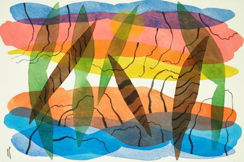 Reinhard Fritz, hypnotic, Emotions: Horror, Emotions: Pride, Contemporary Art