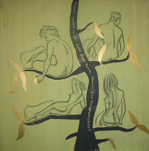 Brigitte Holzinger, Frauen, Erotic motifs: Female nudes, Miscellaneous Erotic motifs, Contemporary Art