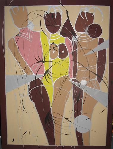 Brigitte Holzinger, AKT, Erotic motifs: Female nudes, Contemporary Art, Expressionism