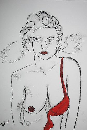 Brigitte Holzinger, ANGEL, Erotic motifs: Female nudes, Miscellaneous Erotic motifs, Contemporary Art