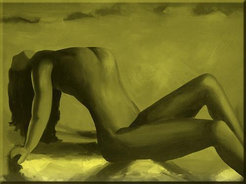 Brigitte Holzinger, LARA, Erotic motifs: Female nudes, People: Women, Contemporary Art