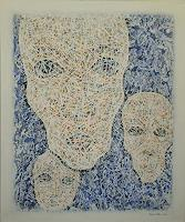 Friedhard-Meyer-Emotions-Fear-People-Group-Contemporary-Art-Contemporary-Art