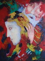 Friedhard-Meyer-Religion-People-Couples-Contemporary-Art-Contemporary-Art
