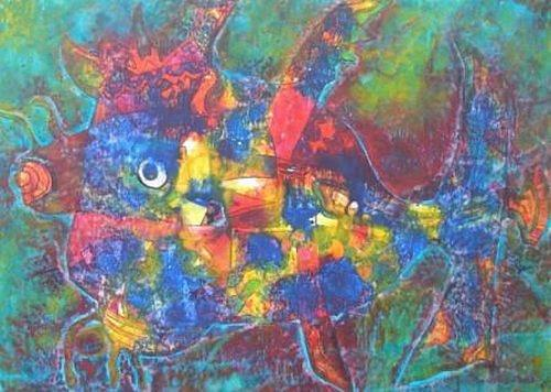 Friedhard Meyer, Näsling, Burlesque, Animals: Water, Contemporary Art