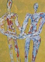 Friedhard-Meyer-Emotions-Safety-People-Couples-Contemporary-Art-Contemporary-Art