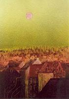 Friedhard-Meyer-Miscellaneous-Romantic-motifs-Miscellaneous-Buildings-Contemporary-Art-Contemporary-Art