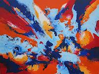 Friedhard-Meyer-Abstract-art-Fantasy-Modern-Age-Abstract-Art-Non-Objectivism--Informel-