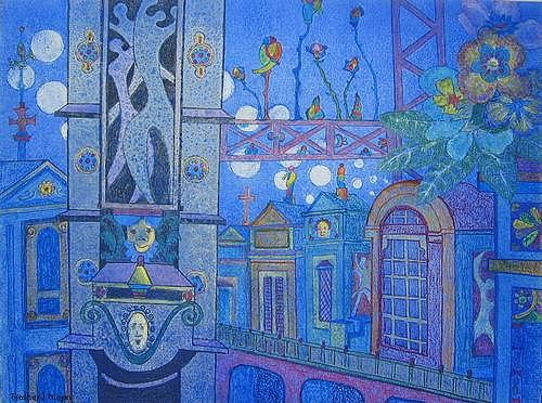 Friedhard Meyer, Tour d`Argent, Fantasy, Miscellaneous Buildings, Contemporary Art