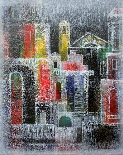Friedhard Meyer, Trastevere, Miscellaneous Buildings, Fantasy, Contemporary Art