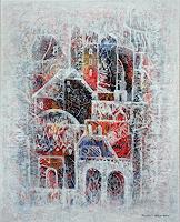 Friedhard-Meyer-Miscellaneous-Buildings-Fantasy-Contemporary-Art-Contemporary-Art