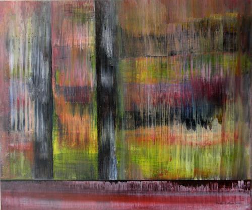Friedhard Meyer, Ausblick, Abstract art, Poetry, Contemporary Art