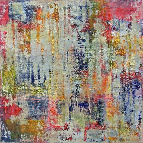 Friedhard Meyer, Vertikal 3, Abstract art, Decorative Art, Contemporary Art