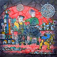 Friedhard-Meyer-People-Children-Poetry-Contemporary-Art-Contemporary-Art