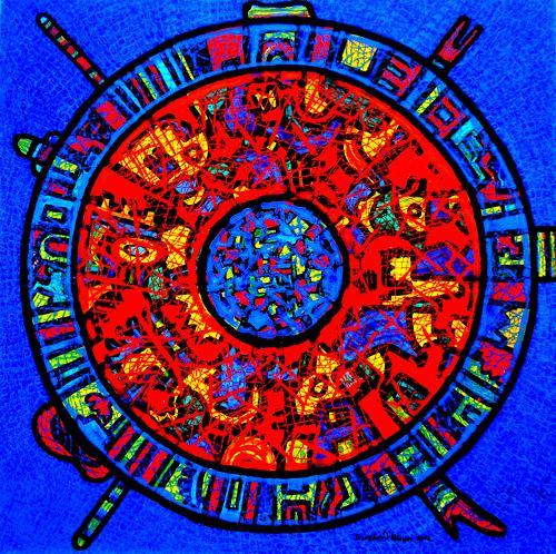 Friedhard Meyer, mandala, Mythology, Symbol, Contemporary Art