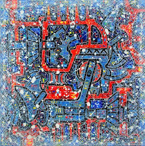 Friedhard Meyer, Mechanica, Technology, Movement, Contemporary Art, Expressionism