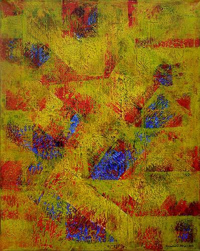 Friedhard Meyer, Angles 2, Abstract art, Fantasy, Contemporary Art