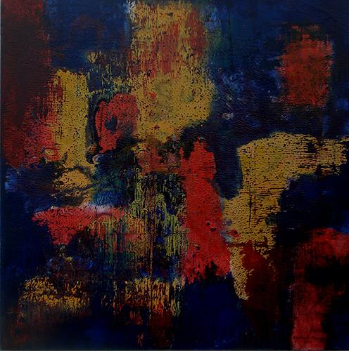 Friedhard Meyer, Bewegte farben, Abstract art, Fantasy, Contemporary Art