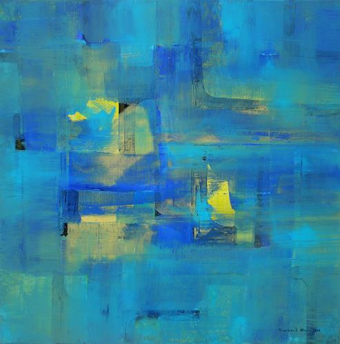 Friedhard Meyer, Gebäude, Architecture, Abstract art, Contemporary Art