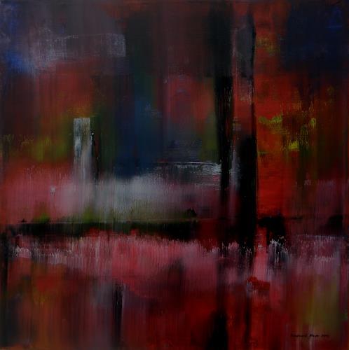 Friedhard Meyer, Mehr Licht, Abstract art, Miscellaneous, Contemporary Art, Expressionism