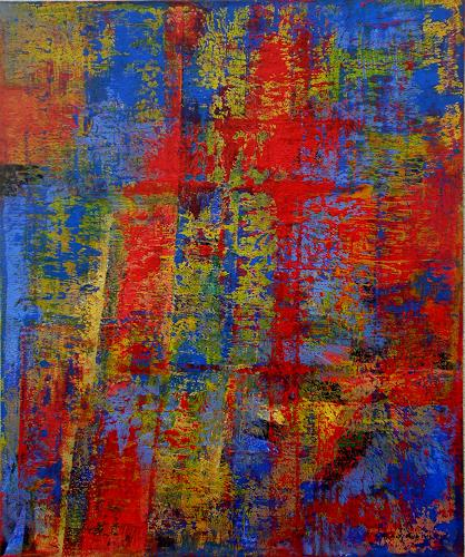 Friedhard Meyer, Schräge, Abstract art, Fantasy, Contemporary Art, Abstract Expressionism