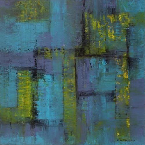 Friedhard Meyer, Türkis, Architecture, Abstract art, Contemporary Art