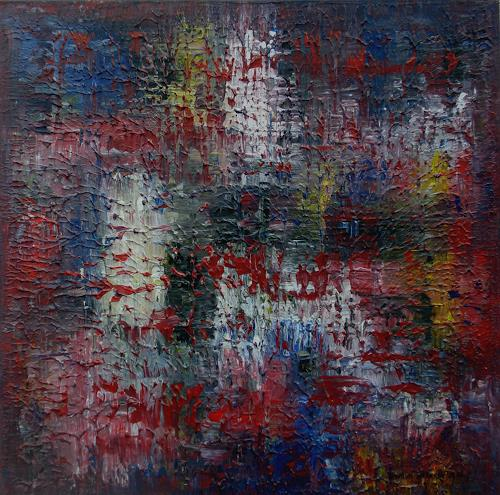 Friedhard Meyer, Verstecktes Gelb, Fantasy, Abstract art, Contemporary Art