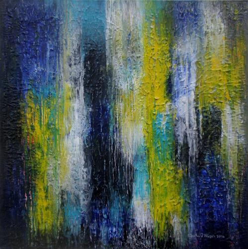 Friedhard Meyer, Kadmiumgelb, Miscellaneous, Abstract art, Contemporary Art