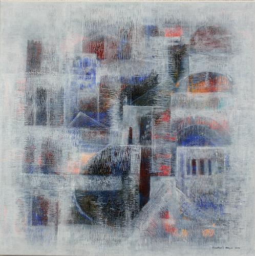 Friedhard Meyer, Orientalische Stadt, Fantasy, Miscellaneous Buildings, Contemporary Art