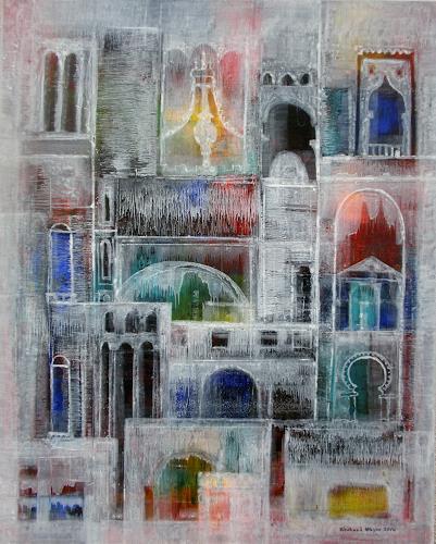 Friedhard Meyer, Reminiszenz an Venedig, Miscellaneous Buildings, Fantasy, Contemporary Art