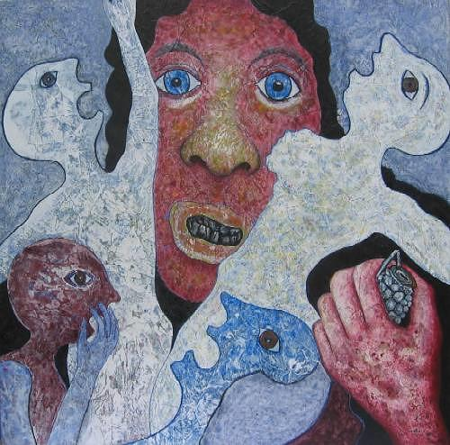 Friedhard Meyer, Assassin, War, Emotions: Horror, Contemporary Art