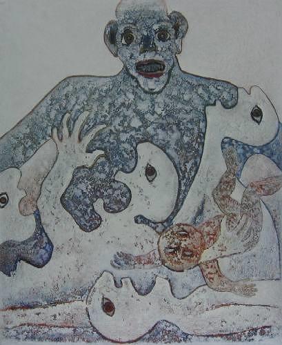 Friedhard Meyer, Vae Victis, War, Emotions: Fear, Contemporary Art