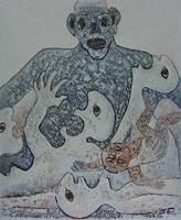 Friedhard-Meyer-War-Emotions-Fear-Contemporary-Art-Contemporary-Art