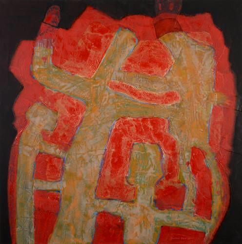 Friedhard Meyer, Balance, People: Group, Symbol, Contemporary Art
