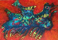 Friedhard-Meyer-Miscellaneous-Animals-Fantasy-Contemporary-Art-Contemporary-Art