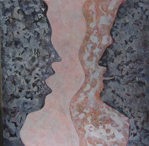 Friedhard Meyer, Indignation, Emotions: Joy, People: Faces, Contemporary Art