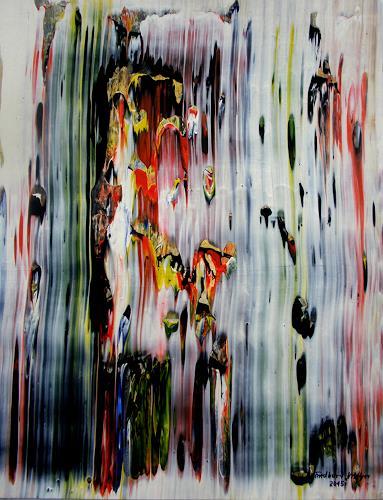 Friedhard Meyer, Bewegte Mitte, Abstract art, Fantasy, Contemporary Art