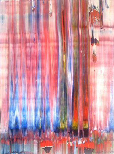 Friedhard Meyer, Vorhang 2, Fantasy, Abstract art, Contemporary Art