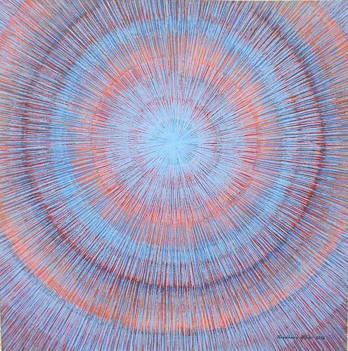 Friedhard Meyer, Meditation 3, Abstract art, Poetry, Contemporary Art