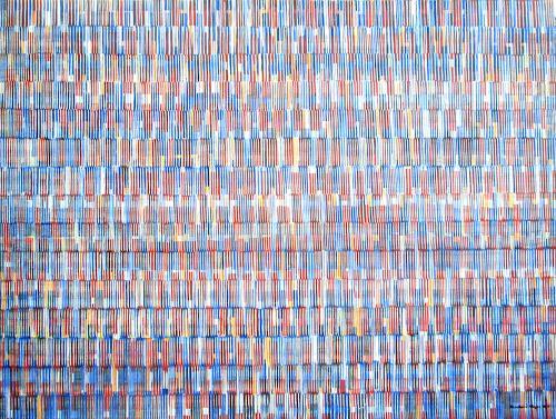 Friedhard Meyer, Farbkörper 2, Abstract art, Decorative Art, Contemporary Art