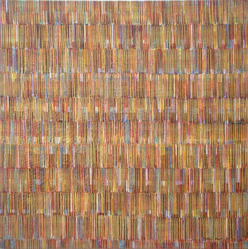 Friedhard Meyer, Farbklänge 3, Abstract art, Decorative Art, Contemporary Art