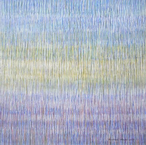 Friedhard Meyer, Farbklänge 4, Abstract art, Decorative Art, Contemporary Art