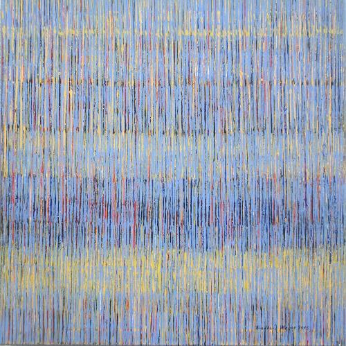 Friedhard Meyer, Farbklänge 7, Abstract art, Decorative Art, Contemporary Art