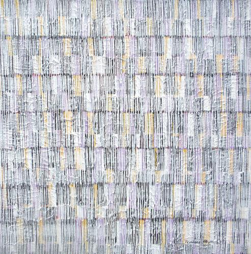 Friedhard Meyer, Farbkänge 8, Abstract art, Decorative Art, Contemporary Art