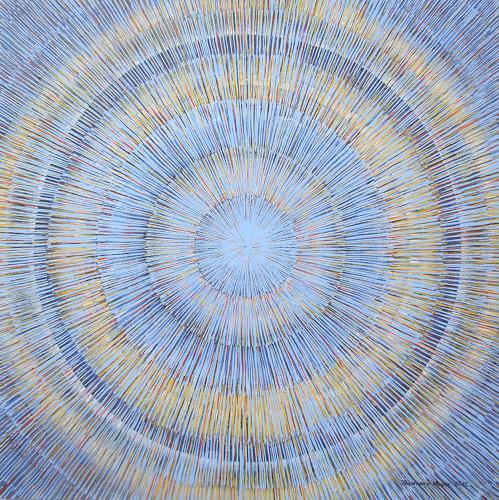 Friedhard Meyer, Meditation 1, Decorative Art, Abstract art, Contemporary Art