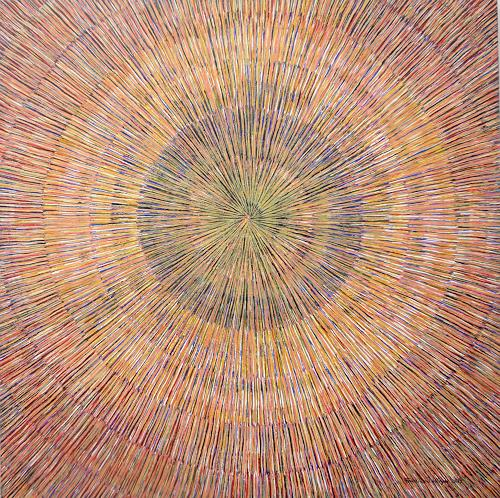 Friedhard Meyer, Meditation 2, Decorative Art, Abstract art, Contemporary Art