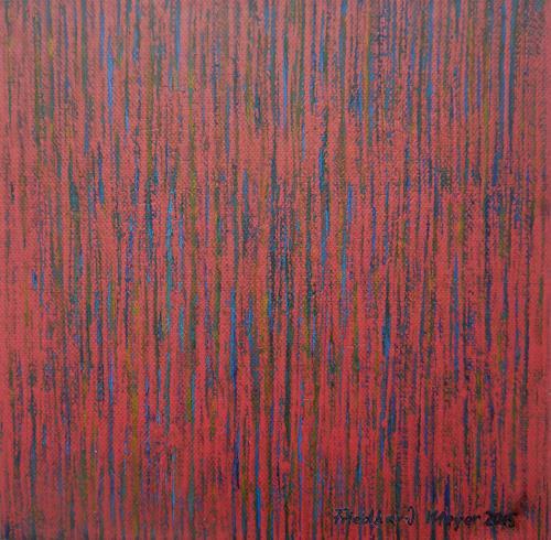 Friedhard Meyer, Miniatur 2, Abstract art, Decorative Art, Contemporary Art