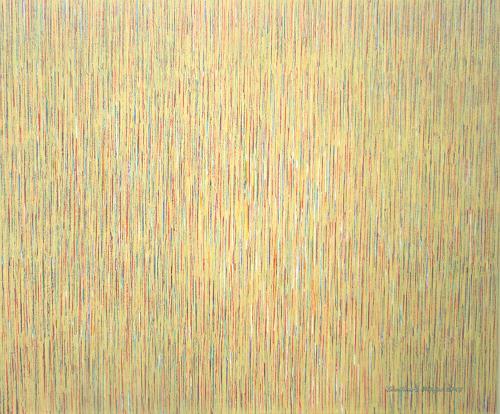 Friedhard Meyer, Needles 5, Abstract art, Decorative Art, Concrete Art