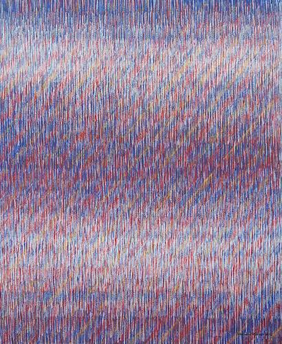 Friedhard Meyer, Diagonal 3, Abstract art, Decorative Art, Contemporary Art