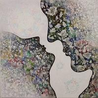 Friedhard-Meyer-Emotions-Love-People-Couples-Contemporary-Art-Contemporary-Art