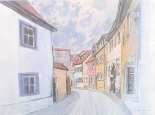Friedhard Meyer, Obere Bauerngasse, Miscellaneous Buildings, Architecture, Contemporary Art